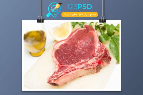 عکس گوشت کیفیت بالا